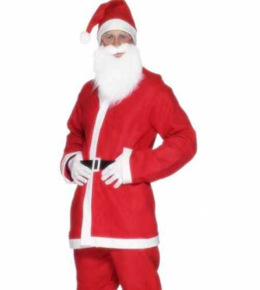 Billig julemandsdragt