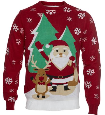 Folkekær og hyggelig juletrøje