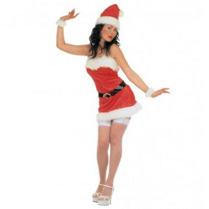 Sexet Miss Santa nissepige uniform