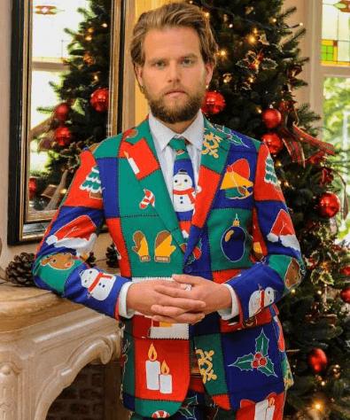 Jule jakkesæt fra Oppo Suits