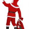 Julemand med ryggen til