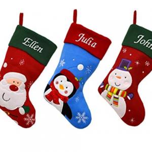 Køb julesokker med eget navn