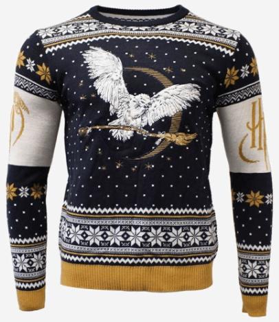 Julesweater med Harry Potter på brystet