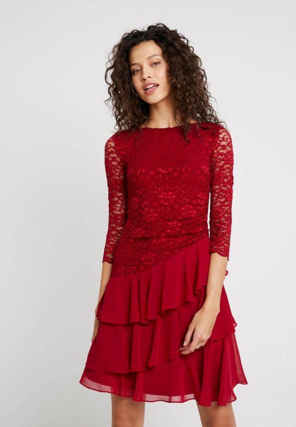 rød julekjole