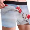 Juleboxershorts med hund på