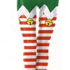 Juleleggings dekoreret med juleklokker