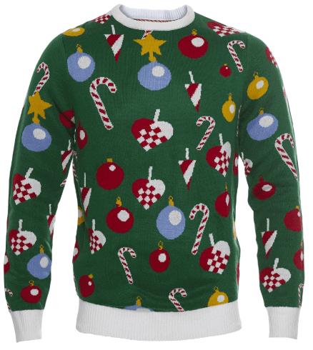 Pæn juletræets julesweater