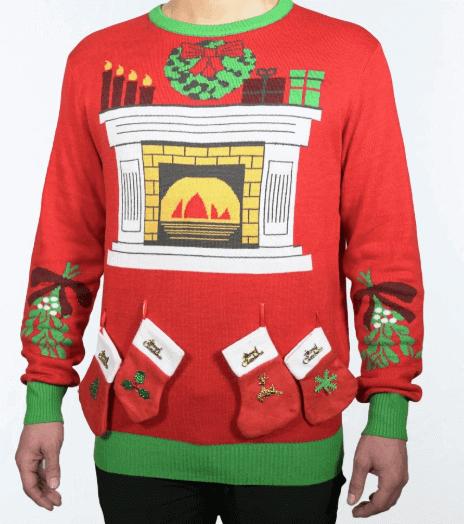 Flot Mistelten julesweater