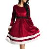 Mrs Santa Claus julekjole