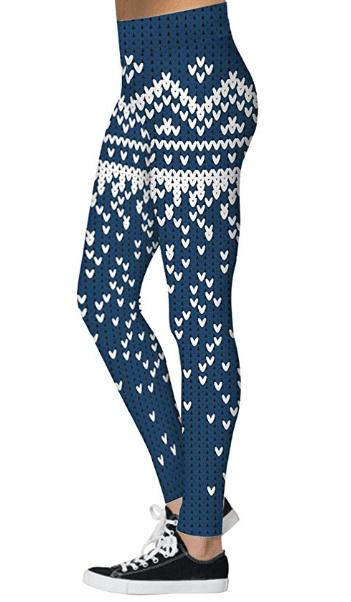 Pizoff Womens Christmas Leggings