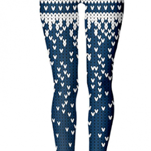 Pizoff Womens Full Length Christmas Leggings