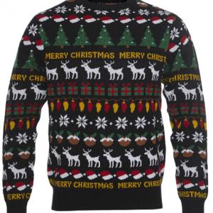 Kom i julestemning med denne stemningsfyldte julesweater