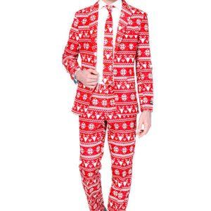 Opposuits Suitmeister Christmas Red julejakkesæt