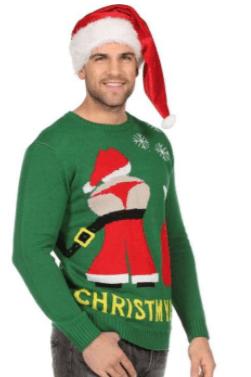 ChristMyAss Juletrøje