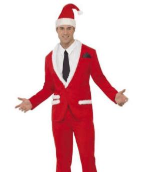 Cool julemand Jakkesæt kostume