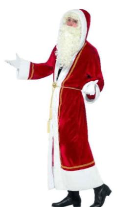 Deluxe Julemandskåbe