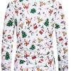 Hvid juleskjorte