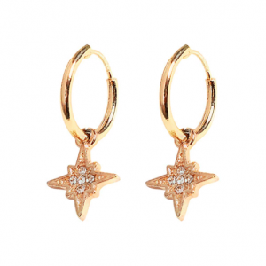 juleøreringe - jule øreringe, julesmykker
