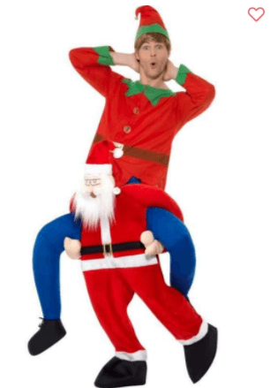 Sjovt julemandskostume