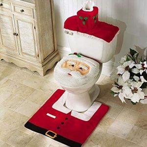 juledekoration toilet, mandelgaver