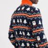 Asos Juletrøje med rullekrave og pingvin design