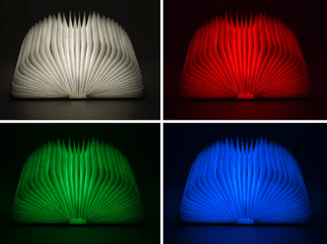 Flot Mood Book Lamp
