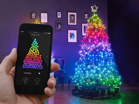 Twinkly Strings Appstyret Juletræsbelysning