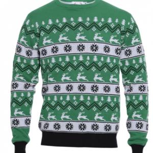 Den grønne julesweater