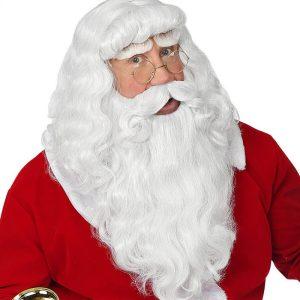 julemandsskæg, julemandsparyk