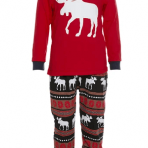Klassisk julepyjamas